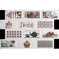 DECOR DERBY SPICE 34X50